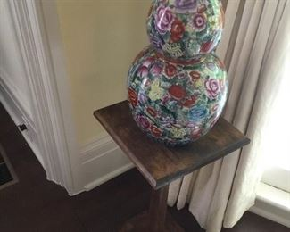 Antique oriental vase.
