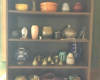 A small portion of pottery.