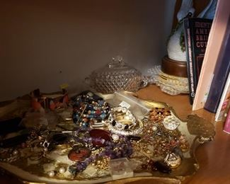 Jewelry galore- new & vintage