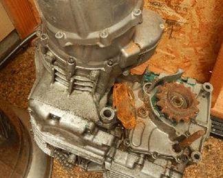 ENGINE FOR DRAG BIKE