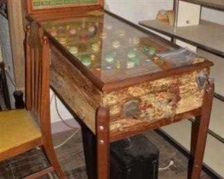 Early 1940's Pinball Machine