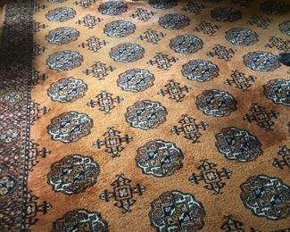 Oriental rug 8 x 10 Karastan Oriental #909.  $500