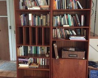 Mid-Century modern office wall unit $350