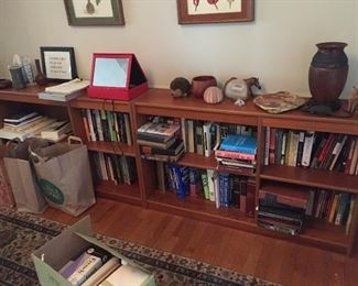 Bookshelf total of 3 in this picture. $200 each (Dania collection)