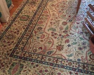Oriental Rug.  $500 Cream color.