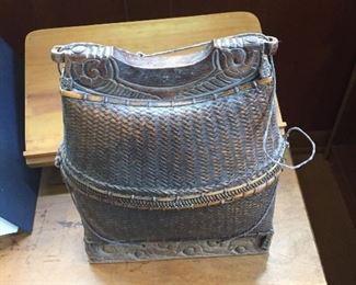 Antique rice baskets  $45