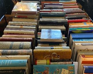 Large selection of books over 200