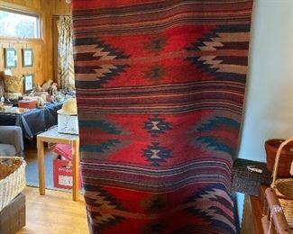 Navajo  wall hanging/rug $300