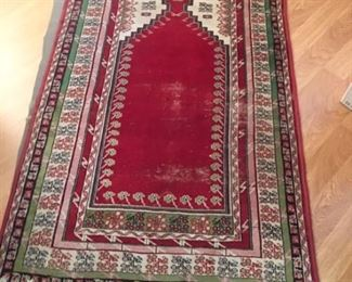 Prayer rug- good age to this one