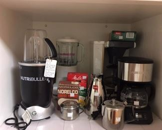Some of the kitchen items