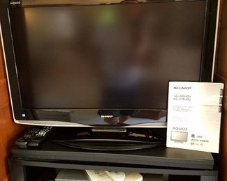 Sharp Aquos flat screen TV