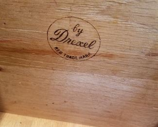 Mark on credenza drawer