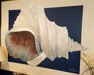 Lee Reynolds shell artwork
