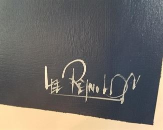 Lee Reynolds signature