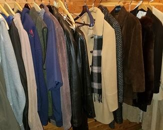 Men's clothing and coats