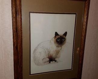 Artwork of cat
