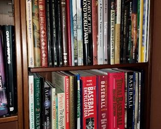 Baseball and other books