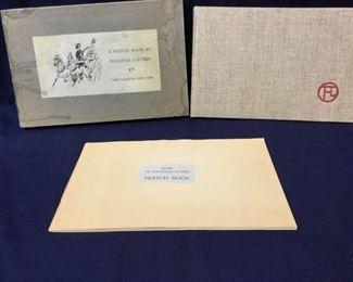 Henri De Toulouse-Lautrec Sketch Book 1952  https://ctbids.com/#!/description/share/186711