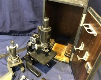 Vintage Microscope Duo https://ctbids.com/#!/description/share/186733