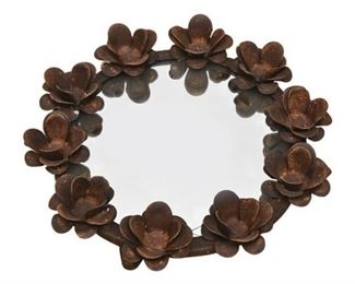 9. Decorative Metal Mirror