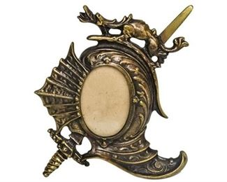 38. Fantasy Dragon Themed Picture Frame