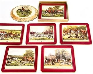 54. Set of Hunting Themed Coasters or Mats
