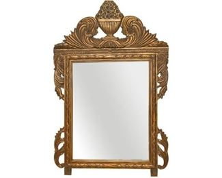 92. Large Gilt Frame Mirror