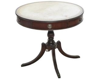 109. Georgian Style Drum Table