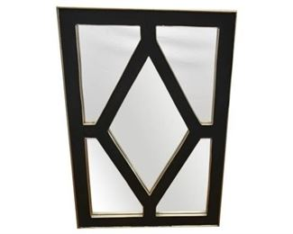 123. Large Art Deco Style Wall Mirror