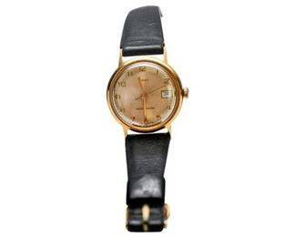 142. Vintage Gold filled Mechanical Timex Wristwatch wDate
