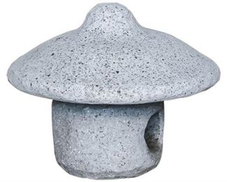 146. Cement, Outdoor Candle Holder