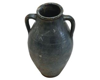 171. Contemporary 2 Handled Amphora Storage Container