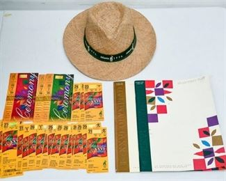 184. Mixed Collection 1996 Atlanta Olympics Tickets  Programs  Coins