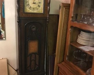 Krosley grandfather clock/radio
