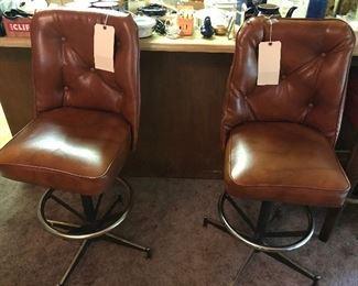 vinyl retro stools