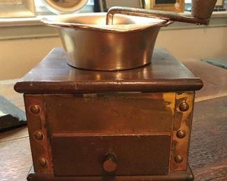 copper coffee grinder