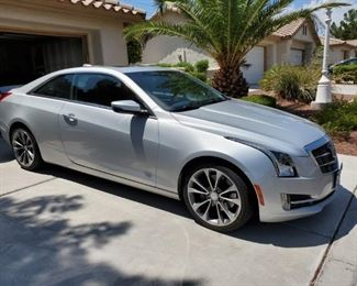 2015 Cadillac ATS No Liens 30,061 Miles Rebuilt Title VIN: 1G6AB1RX8F0114439 * CAR SOLD AS-IS, WHERE IS WITH NO GUARANTEE OR WARRANTY EXPRESSED OR IMPLIED.