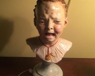 "Porcelain "" Baby"" bust"