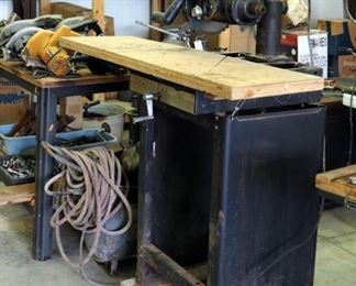 Vintage Craftsman Electric Radial Arm Saw Model 100 Includes Rolling Stand