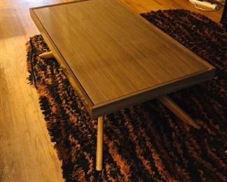 MCM Convertible Coffee Table/Flip Top Dining Table