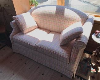 Beautiful Like New Love Seat Sleeper