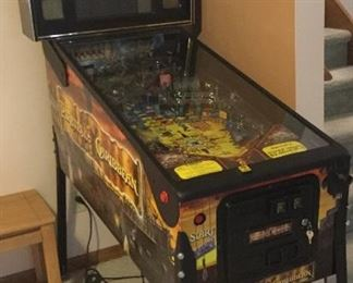 Pinball Machine - With the amount of interest in this item, we will offer a buy it now price of $4500 AT the sale and a highest bid if no one buys it for $4500. At 4PM 7-11-19, if no one has purchased it yet, you may call me at 517-449-4511 and pay for it over the phone using a credit card adding a 3% fee. Please email bids to kellie@shopkellies.com in case it does not sell on site.