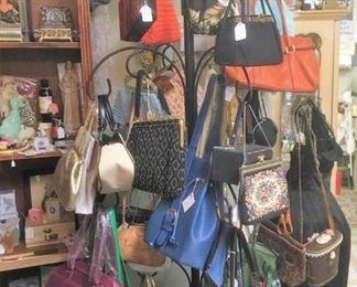 new & vintage handbags