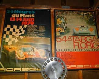 One of many vintage SCCA and formula racing posters to be sold.