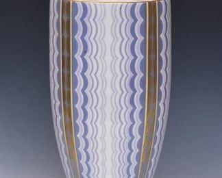 Rene Gabriel Porcelain Vase for Sevres