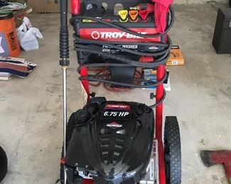 6.75 HP Troy-Bilt Power Washer