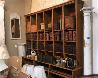 Antique Shelving unit.