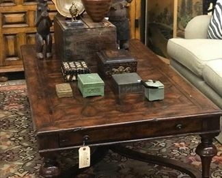 Theodore Alexander coffee table