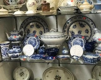 18 & 19th century creamware.