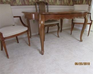 Lovely dining table with chairs